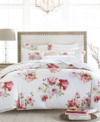 Classic Jardin Cotton Full/Queen Duvet Cover, Created for Macy's