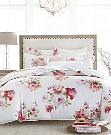 Hotel Collection Classic Jardin Cotton King Duvet Cover, Created for Macy's