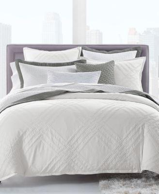 Locked Geo Full/Queen Comforter, Created for Macy's