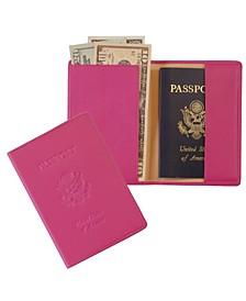 Passport Seal Embossed RFID Blocking Passport Case