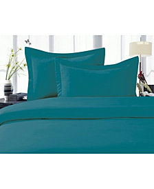 Elegant Comfort 1500 Thread Count Egyptian Quality Luxurious Silky - Soft Wrinkle Free 3-Piece Duvet Cover Set, King/Cali King