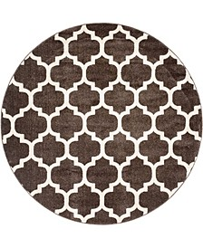 Arbor Arb1 Brown 6' x 6' Round Area Rug