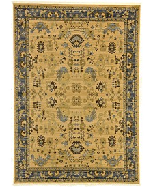 Bridgeport Home Orwyn Orw2 Tan 7' x 10' Area Rug