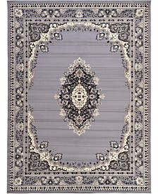 "Bridgeport Home Birsu Bir1 Gray 9' 10"" x 13' Area Rug"