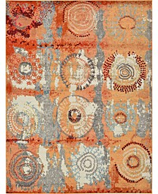 Newwolf New3 Orange Area Rug Collection