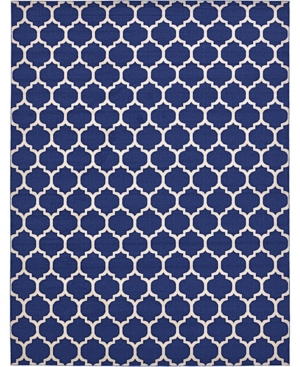 "Bridgeport Home Arbor Arb1 Dark Blue 12' 2"" x 16' Area Rug Product Image"