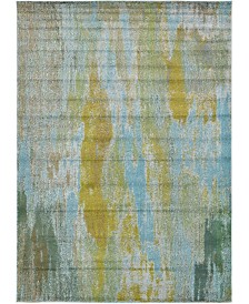 Bridgeport Home Adah Ada2 Turquoise 7' x 10' Area Rug