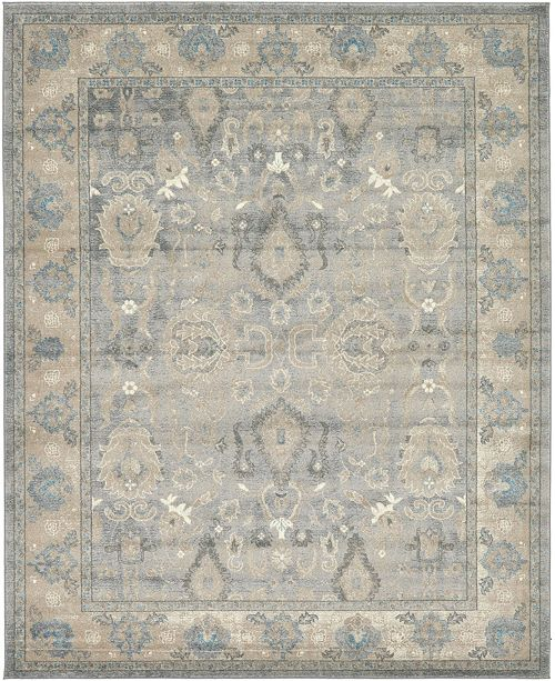 Bridgeport Home Bellmere Bel6 Gray 8' x 10' Area Rug