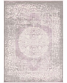Norston Nor4 Purple 9' x 12' Area Rug