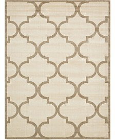 Bridgeport Home Arbor Arb3 Beige/Brown 9' x 12' Area Rug