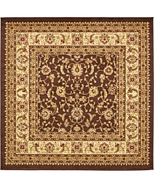 Passage Psg4 Brown 6' x 6' Square Area Rug