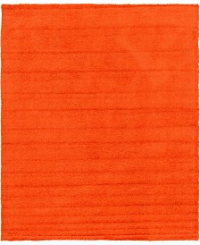 Bridgeport Home Exact Shag Exs1 Tiger Orange 12' x 15' Area Rug