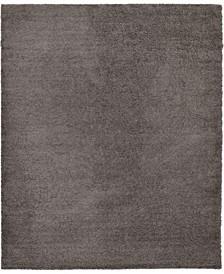 "Exact Shag Exs1 Graphite Gray 12' x 15' 10"" Area Rug"