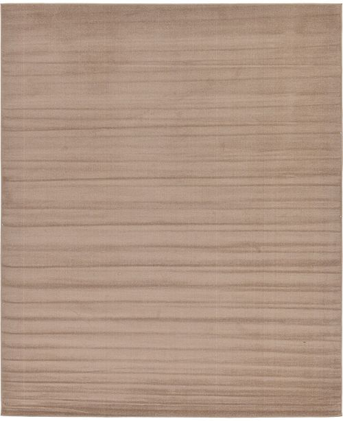 Bridgeport Home Axbridge Axb3 Light Brown 8' x 10' Area Rug