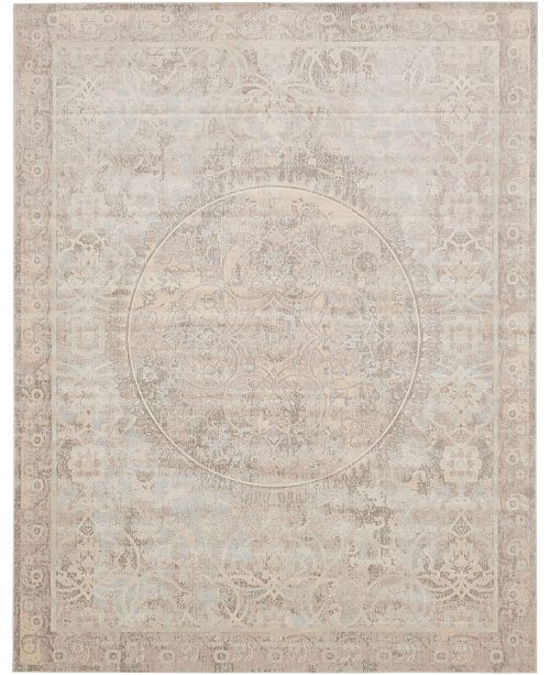 Bridgeport Home Caan Can1 Beige 8' x 10' Area Rug