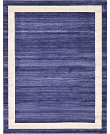 Bridgeport Home Lyon Lyo5 Navy Blue 10' x 13' Area Rug