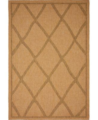 Pashio Pas7 Light Brown 6' x 9' Area Rug
