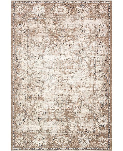 "Bridgeport Home Odette Ode4 Beige 10' x 14' 5"" Area Rug"
