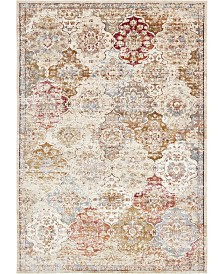 Bridgeport Home Ananta Ana5 Beige 7' x 10' Area Rug