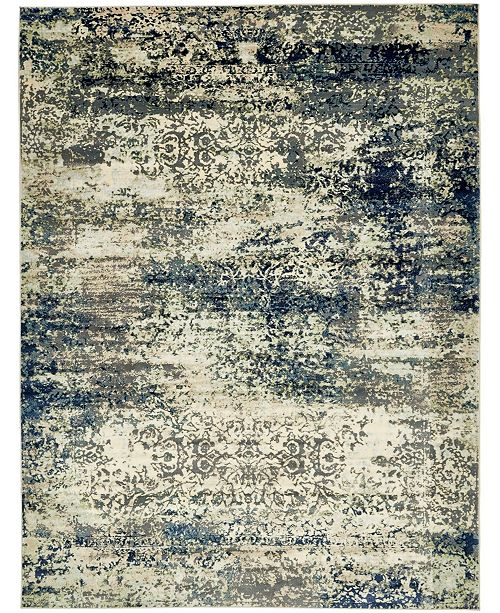 Bridgeport Home Marblesea Mrb4 Gray 9' x 12' Area Rug