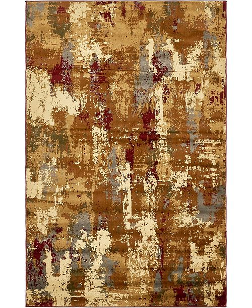 Bridgeport Home Kallista Kal8 Beige 5' x 8' Area Rug