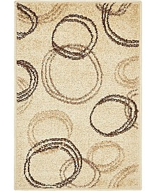 Bridgeport Home Jasia Jas05 Beige 2' x 3' Area Rug
