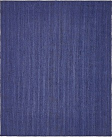 Braided Jute B Bjb5 Navy Blue 8' x 10' Area Rug