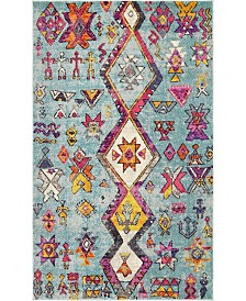 Bridgeport Home Arcata Arc1 Turquoise 5' x 8' Area Rug