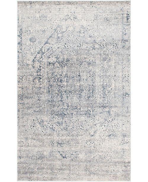 Bridgeport Home Odette Ode1 Gray 6' x 9' Area Rug