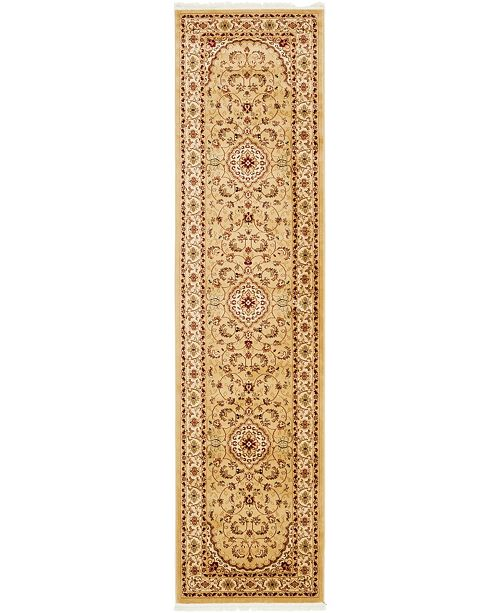 "Bridgeport Home Clayton Cly1 Beige 3' 3"" x 13' Runner Area Rug"
