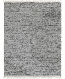 Bridgeport Home Lochcort Shag Loc3 Gray 9' x 12' Area Rug