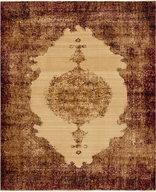 Bridgeport Home Thule Thu2 Red 8' x 10' Area Rug