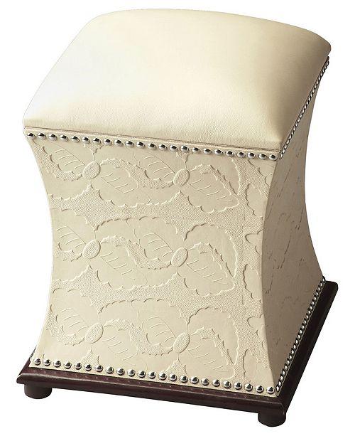 Butler Specialty Butler Sophie Storage Ottoman