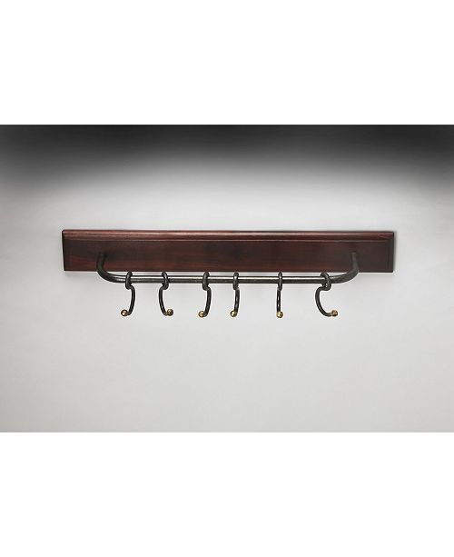 Butler Specialty Butler Glendo Iron and Wood Wall Rack