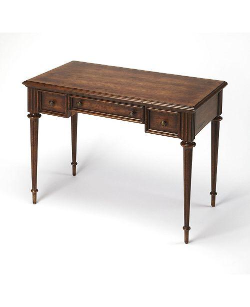 Butler Specialty Butler Edmund Toffee Writing Desk