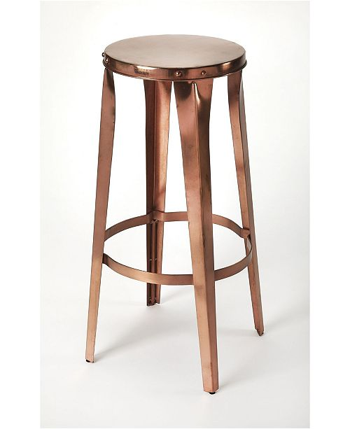 Butler Specialty Butler Ulrich Copper Bar Stool
