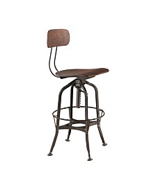 Kaeso Swivel Adjustable Stool