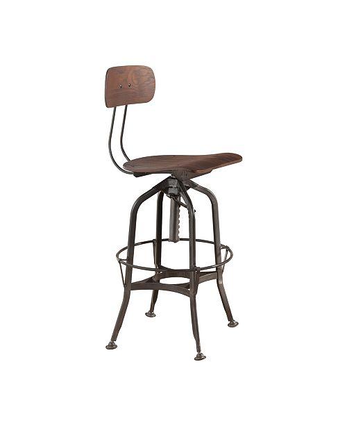 Acme Furniture Kaeso Swivel Adjustable Stool