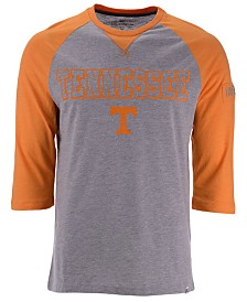 Colosseum Men's Tennessee Volunteers Team Patch Three-Quarter Sleeve Raglan T-Shirt