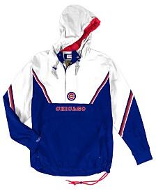 Mitchell & Ness Men's Chicago Cubs Anorak Half-Zip Pullover