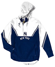 Mitchell & Ness Men's New York Yankees Anorak Half-Zip Pullover