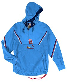 Mitchell & Ness Men's St. Louis Cardinals Anorak Half-Zip Pullover