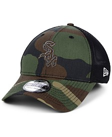 New Era Chicago White Sox Camo Trucker 39THIRTY Cap