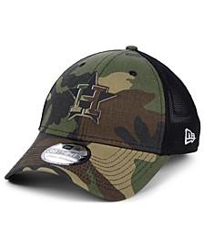 Houston Astros Camo Trucker 39THIRTY Cap