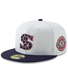 New Era Chicago White Sox World Series Patch 59FIFTY Cap