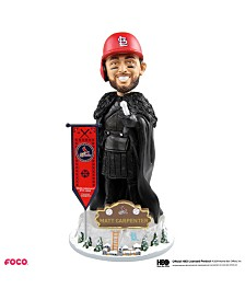 Forever Collectibles Matt Carpenter St. Louis Cardinals Game Of Thrones Nights Watch Bobblehead