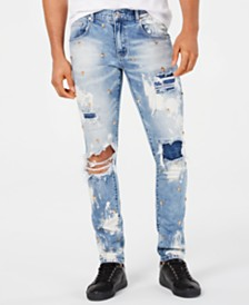 Reason Men's Lancaster Ripped Jeans
