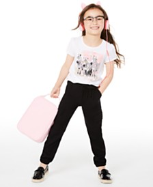 Epic Threads Toddler Girls Zebra-Print T-Shirt & Cargo Jogger Pants, Created for Macy's