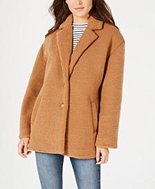 Juniors' Faux-Fur Coat, Created for Macy's