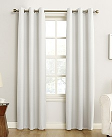 "Cooper 40"" x 84"" Thermal Insulated Grommet Top Curtain Panel"
